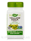 Yellow Dock Root 500 mg - 100 Capsules