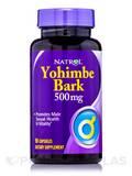 Yohimbe Bark 500 mg - 90 Capsules