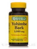 Yohimbe Bark 1,000 mg - 50 Capsules