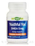 Youthful You™ DHEA 5 mg - 60 Veg Capsules