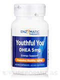 Youthful You DHEA 5 mg 60 Vegetable Capsules