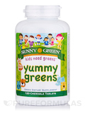 Yummy Greens™, Fruit Punch Flavor - 120 Chewable Tablets