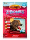 Z-Bones Multi-Count Clean Berry Crisp, Mini Bones for Dogs 10-25 lbs - 18 Count (8.25 oz / 233 Grams
