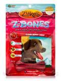 Z-Bones Multi-Count Clean Berry Crisp, Regular Bones for Dogs 25-60 lbs - 8 Count (12 oz / 340 Grams