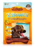 Z-Bones Multi-Count Clean Carrot Crisp, Large Bones for Dogs 60-90 lbs - 6 Count (15 oz / 425 Grams)