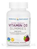 Zero Sugar Vitamin D3 Gummies 1000 IU - 60 Gummies