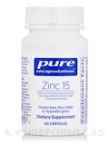Zinc 15 - 60 Capsules