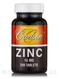 Zinc 15 mg - 250 Tablets