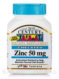 Zinc 50 mg 110 Tablets