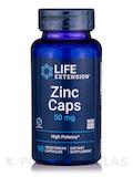 Zinc Caps 50 mg 90 Vegetarian Capsules