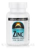 Zinc Chelated 50 mg 100 Tablets