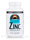 Zinc (Amino Acid Chelate) 50 mg - 250 Tablets