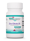 Zinc Citrate 25 mg 60 Vegetarian Capsules