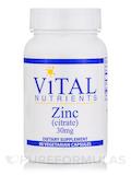 Zinc (citrate) 30 mg - 90 Vegetarian Capsules