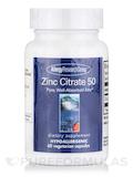 Zinc Citrate 50 Mg 60 Vegetarian Capsules