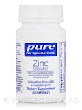 Zinc (citrate) - 60 Capsules