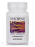 Zinc Citrate - 60 Vegetarian Capsules