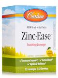 Zinc-Ease™ Grab + Go Packs, Natural Lemon Flavor - 32 Lozenges