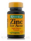 Zinc for Acne - 100 Tablets