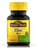 Zinc 30 mg 100 Tablets