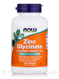 Zinc Glycinate 120 Softgels