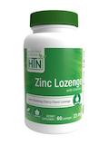 Zinc Lozenge with Vitamin C 23 mg, Cherry Flavor - 60 Lozenges