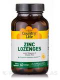 Zinc Lozenges (Lemon Flavor) - 60 Lozenges