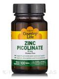 Zinc Picolinate 25 mg - 100 Tablets