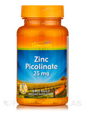 Zinc Picolinate 25 mg 60 Tablets