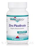 Zinc Picolinate - 60 Vegetarian Capsules