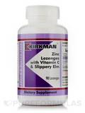 Zinc with Vitamin C and Slippery Elm 90 Lozenges