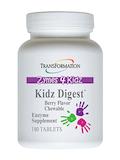 Zymes 4 Kidz - Kidz Digest™ Chewable Berry Flavor 180 Tablets