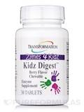 Zymes 4 Kidz - Kidz Digest™ Chewable Berry Flavor 30 Tablets