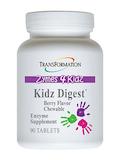 Zymes 4 Kidz - Kidz Digest, Chewable Berry Flavor - 90 Tablets