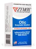 Zymox® Otic (Hydrocortisone 1.0% Enzymatic Solution) - 1.25 fl. oz (37 ml)