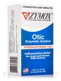 Zymox® Otic (Hydrocortisone 1.0% Enzymatic Solution) - 1.25 fl. oz (37 ml)