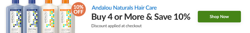 ANDALOU NATURALS HAIR CARE: BUY 4 & SAVE 10% - Discount Applied At Checkout