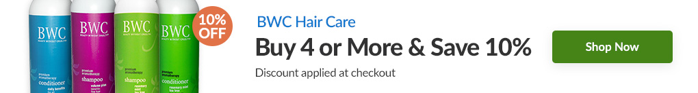 BWC HAIR CARE: BUY 4 & SAVE 10% - Discount Applied At Checkout