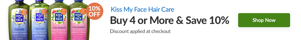 KISS MY FACE HAIR CARE: BUY 4 & SAVE 10% - Discount Applied At Checkout