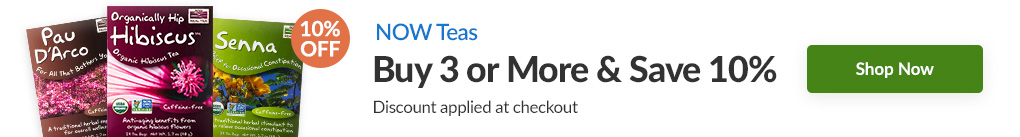 TEAS FROM NOW: BUY 3 & SAVE 10% - Discount Applied At Checkout