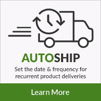 Autoship - Set the date & frequency for recurrent product deliveries