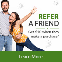 Refer a Friend - Get $10 when they make a purchase
