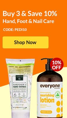 Buy 3 & Save 10% Hand, Foot & Nail Care - Code: PEDI10