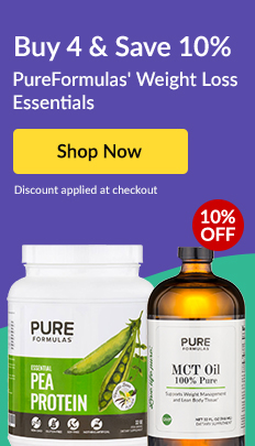 Buy 4 & Save 10%: PureFormulas' Weight Loss Essentials. SHOP NOW!