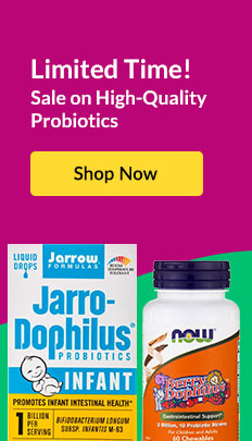 Limited Time! Sale on High-Quality Probiotics. SHOP NOW!
