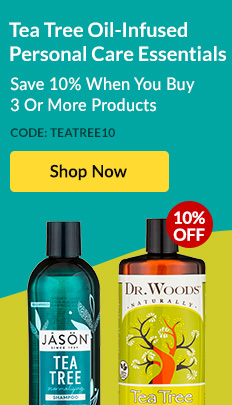 Tea Tree Oil-Infused Personal Care Essentials: Save 10% When You Buy 3 Or More Products. Code: TEATREE10 - SHOP NOW!
