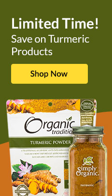 Limited Time! Save on Turmeric Products. SHOP NOW!