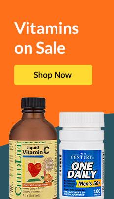 Vitamins on Sale. SHOP NOW!