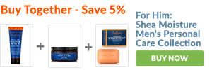 BUY TOGETHER - SAVE 5%: For Him: Shea Moisture Men's Personal Care Collection