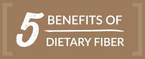 5 Benefits of Dietary Fiber